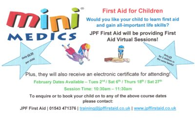 First Aid for Children – Virtual Training Sessions