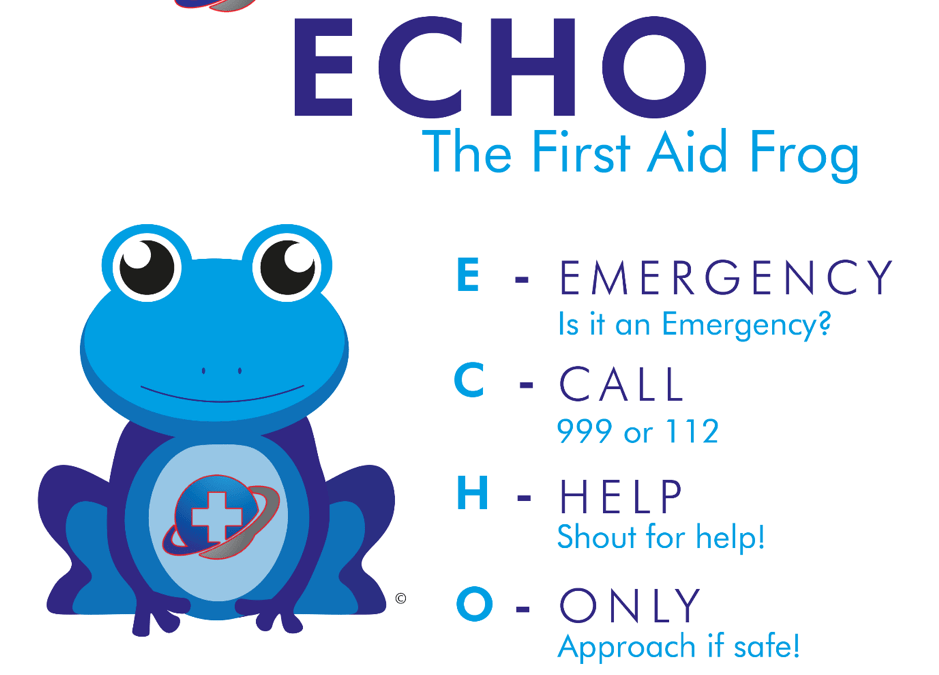 Introducing ECHO, the First Aid Frog…
