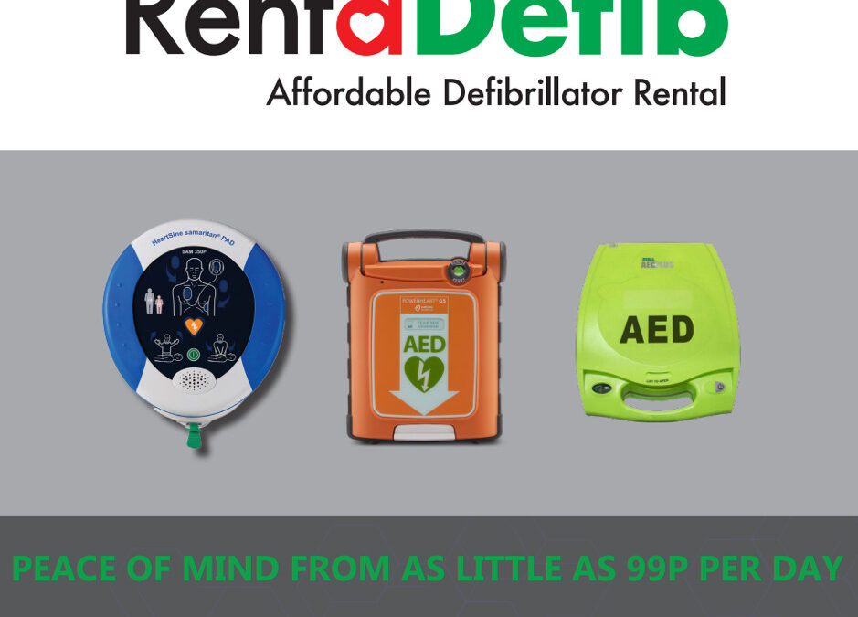 JPF First Aid Working in Partnership with RentaDefib!